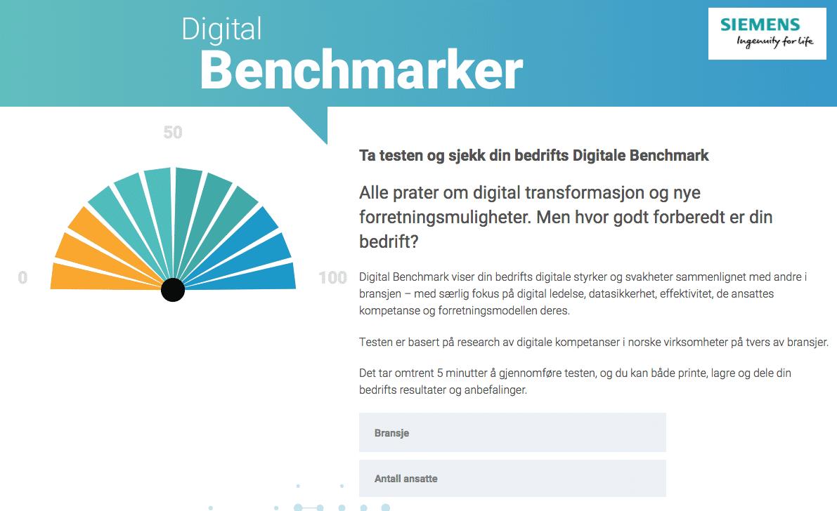 Digital Benchmarker | Hvor digital er din virksomhed?